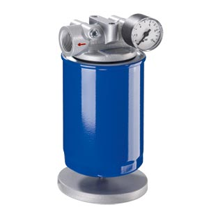 Suction and replacement cartridge filter
